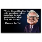 warren buffett diversification quote