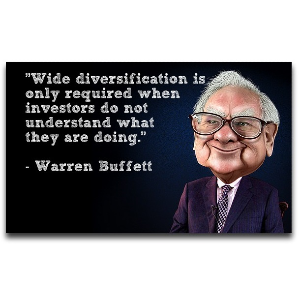 warren buffett diversification quote